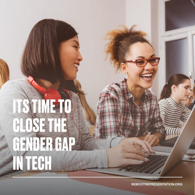 It's time to close the gender gap